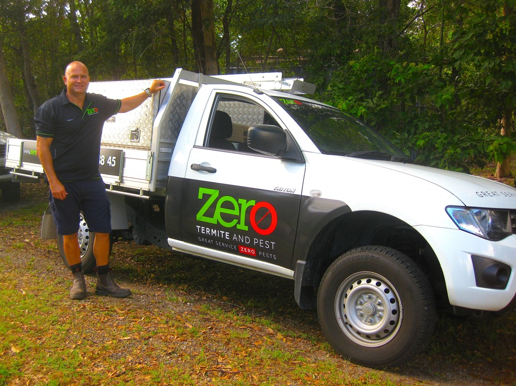 termite control sunshine coast vehicle