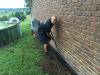 white ant spray barrier installation