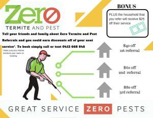 Zero Termite Referral